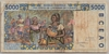 [West African States 5,000 Francs Pick:P-313Cg]