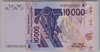 [West African States 10,000 Francs Pick:P-118Ap]